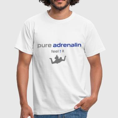 pure_adrenalin_skydiving - Männer T-Shirt
