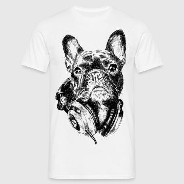 DJ Frenchie - T-shirt herr