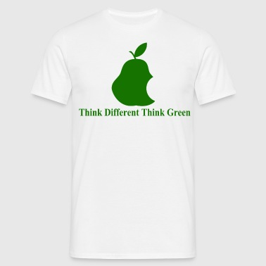 Think different, think green II - T-shirt Homme
