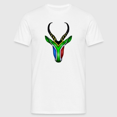 South Africa - Springbok Flag - Men's T-Shirt