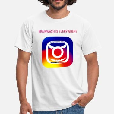 War Anti Instagram - Mannen T-shirt