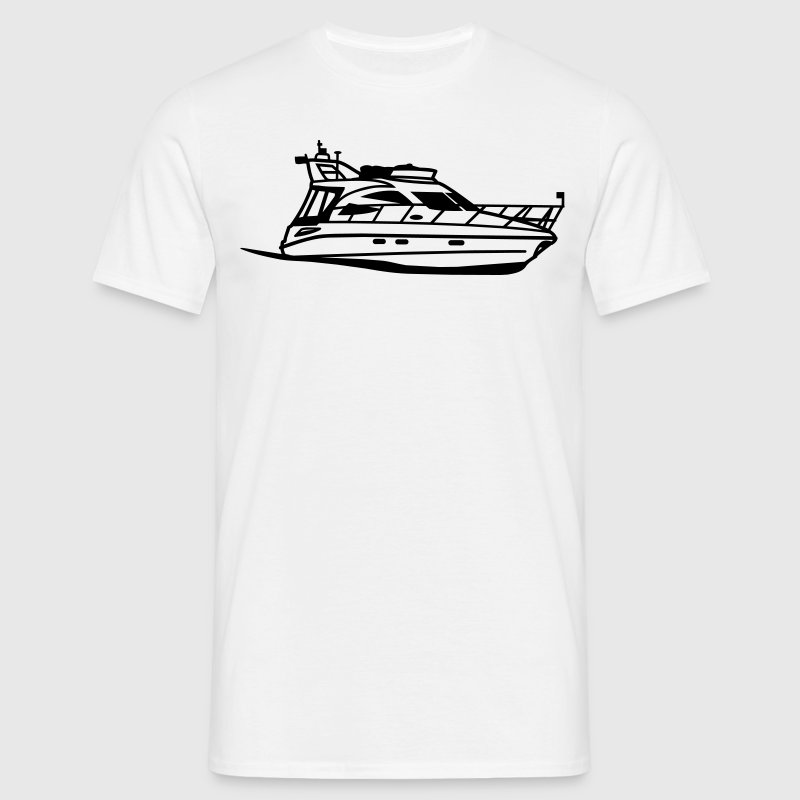 Sealine F34 Sports Yacht - Men's T-Shirt