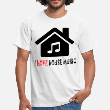 House Music House Music House Party Shirt - T-skjorte for menn
