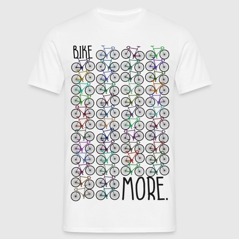BIKE MORE. Critical Mass - Männer T-Shirt