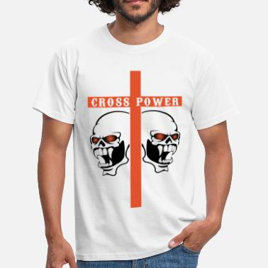 Cross Christianity christian cross - Men's T-Shirt
