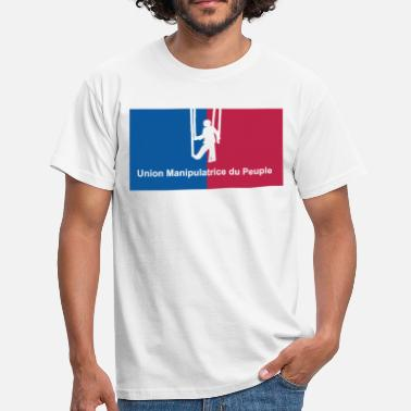 Peuple Union Manipulatrice du Peuple - T-shirt Homme