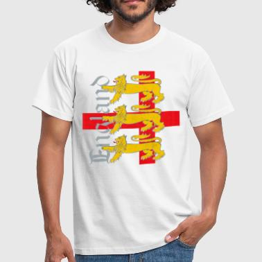 England 3 Lions - Men's T-Shirt