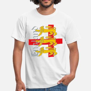 St George England 3 Lions - Men's T-Shirt