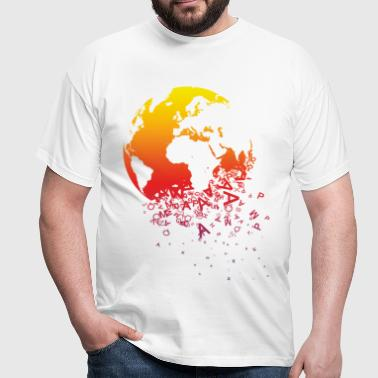 World dissolves - Monde se dissout - T-shirt Homme