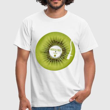 Kiwi Musical Fruit  - Men's T-Shirt
