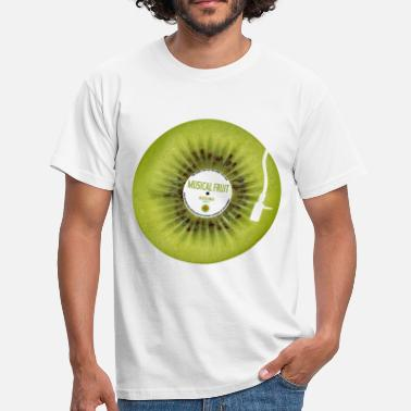 Azzuro Kiwi Musical Fruit  - Men's T-Shirt