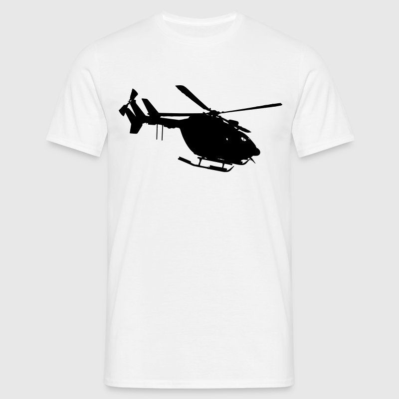 securite civile helicoptere ec 145 dragon - T-shirt Homme