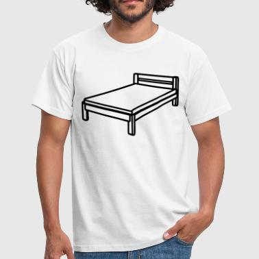 Bed - Mannen T-shirt