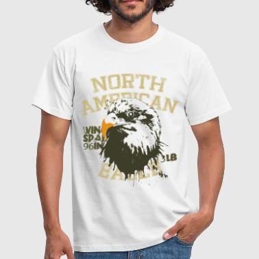 Animal Planet Bald Eagle Facts - Men's T-Shirt