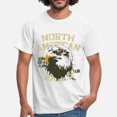 Nature Animal Planet Bald Eagle Facts - Men's T-Shirt