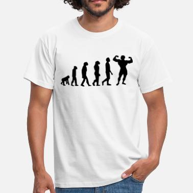 Body Building Evolution Body Building - T-shirt Homme