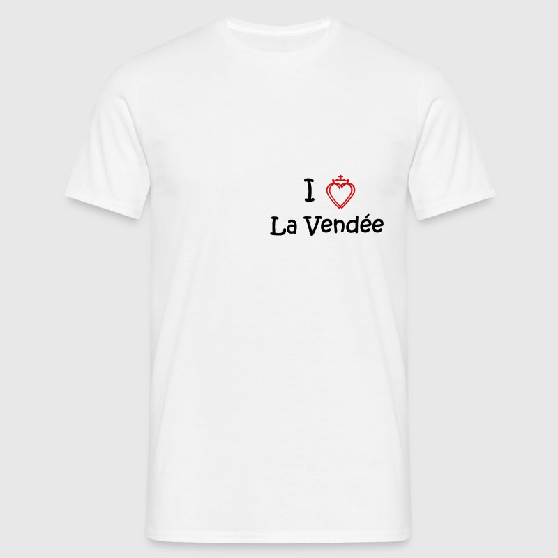 i love la vendee - T-shirt Homme