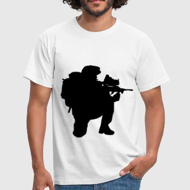 soldier army army soldier - Men's T-Shirt