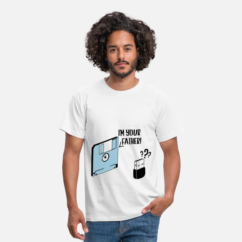 Geek T-shirts - I'm your father - T-shirt Homme blanc