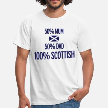 Scottish Catalan Scottish - Men's T-Shirt