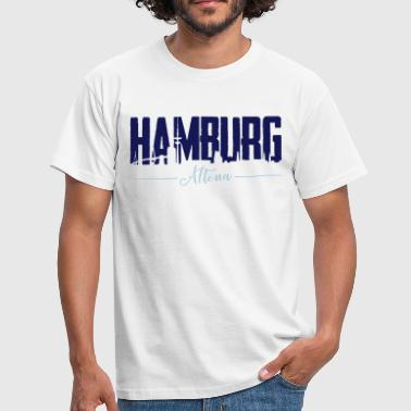 Hamburg Altona, City Shirt - Männer T-Shirt