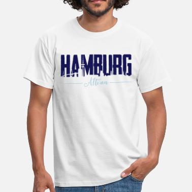 Hamburg Altona Hamburg Altona, City Shirt - Männer T-Shirt