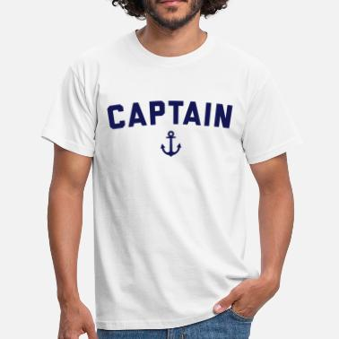 Marin Captain Nautical Quote  - T-shirt Homme