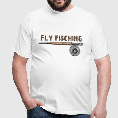 Fly fishing - T-shirt Homme