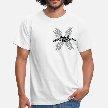 Extreme Skydiving skydiver extreme - Men's T-Shirt