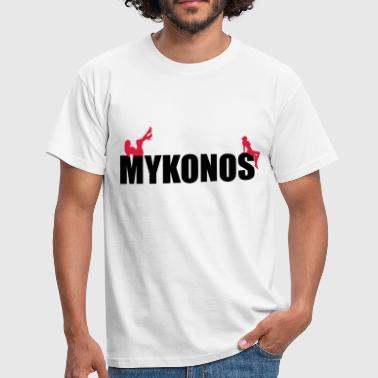 Mykonos - Men's T-Shirt