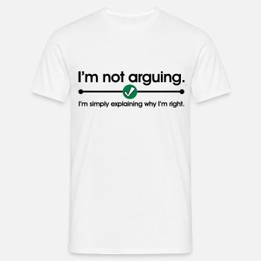 Rock Out Not Arguing - Men's T-Shirt