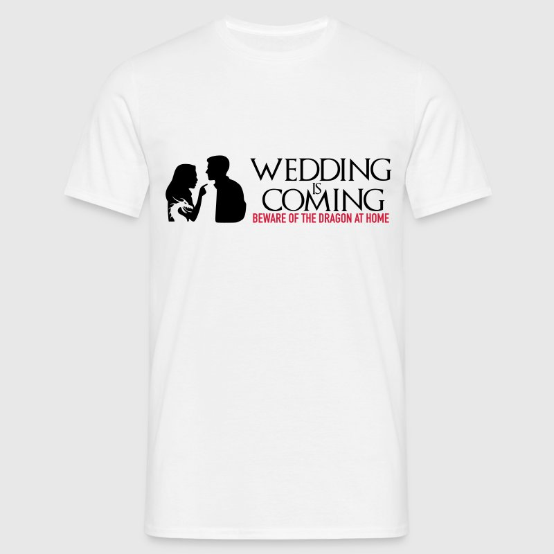 Wedding is coming - Männer T-Shirt