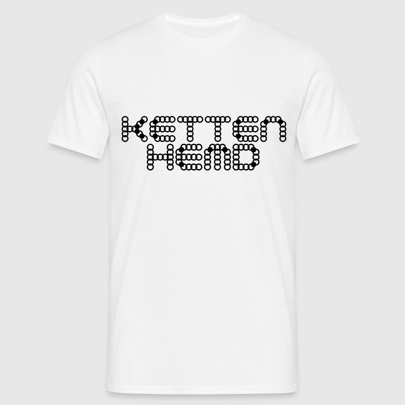 Kettenhemd Ritter Design - Men's T-Shirt