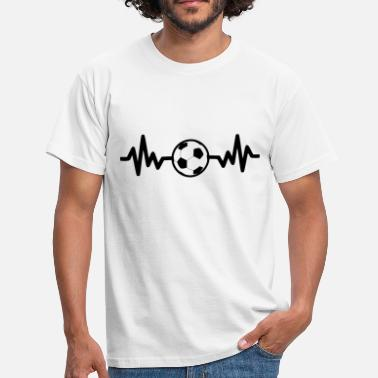 Soccer Fan football soccer is life - Men's T-Shirt