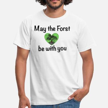 Forst Hambacher Forst - Men's T-Shirt