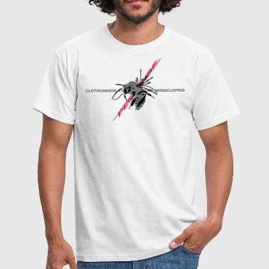 bijen en pesticiden - Mannen T-shirt