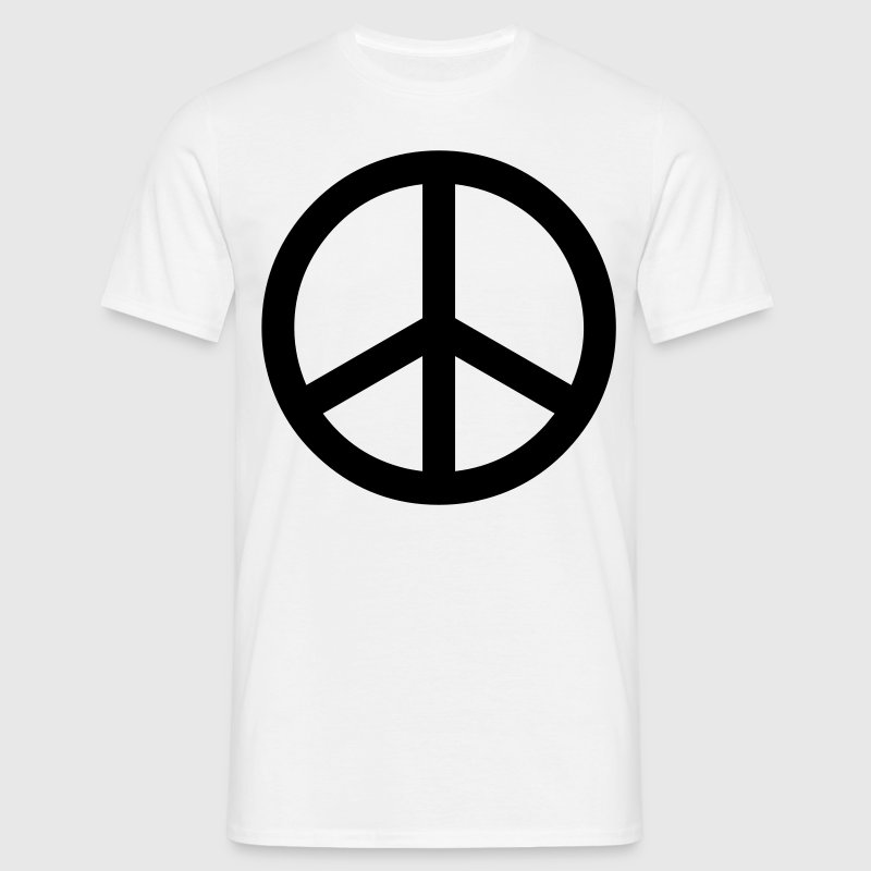peace sign hippie - Men's T-Shirt