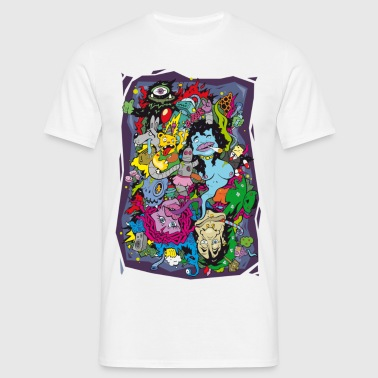 wack_party - Men's T-Shirt