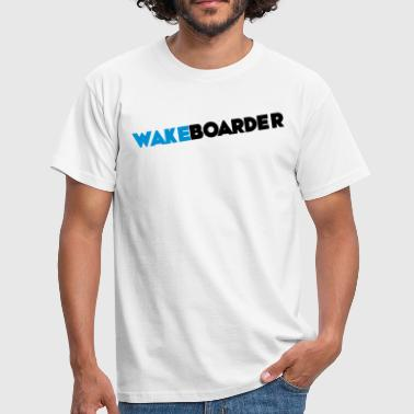 wakeboarder - T-shirt Homme