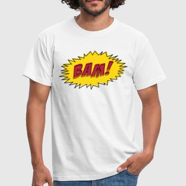Comic Book BAM! - Men's T-Shirt