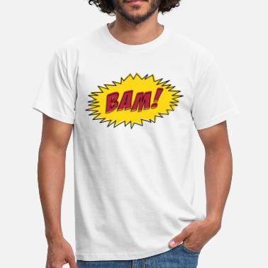 Comic Book Comic Book BAM! - Men's T-Shirt