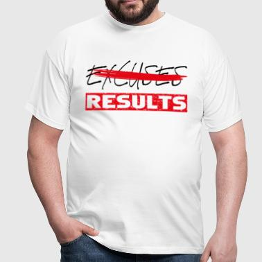 results black red - Men's T-Shirt