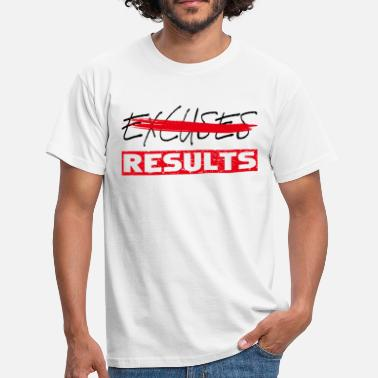 München Heavy Metal results black red - Männer T-Shirt