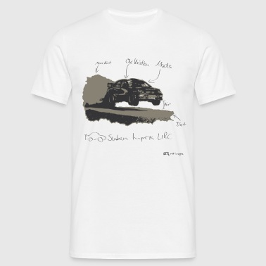 Mads, Ole and the Rallycar - Männer T-Shirt