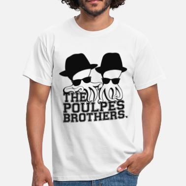 Poulpe The Poulpes Brothers - T-shirt Homme