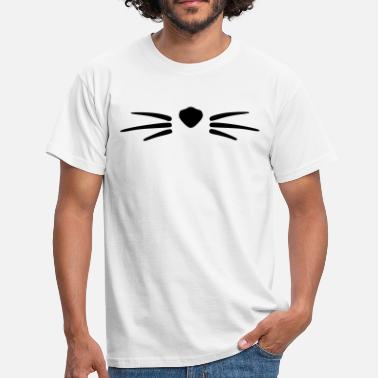 Papounet moustache (animal) - T-shirt Homme