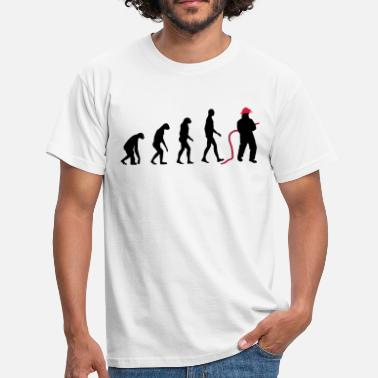 Fireman Evolution Firefighter - Men's T-Shirt