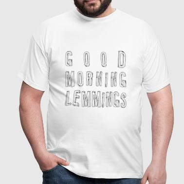 Good Morning Lemmings 01 ★ SpiritSpread - Männer T-Shirt