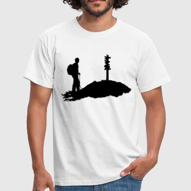Alpinisme, alpiniste, hiking - T-shirt Homme