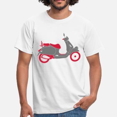 Bromfiets Scooter Scooters / Scooter - Mannen T-shirt